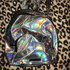 Holographic Mini Bookbag